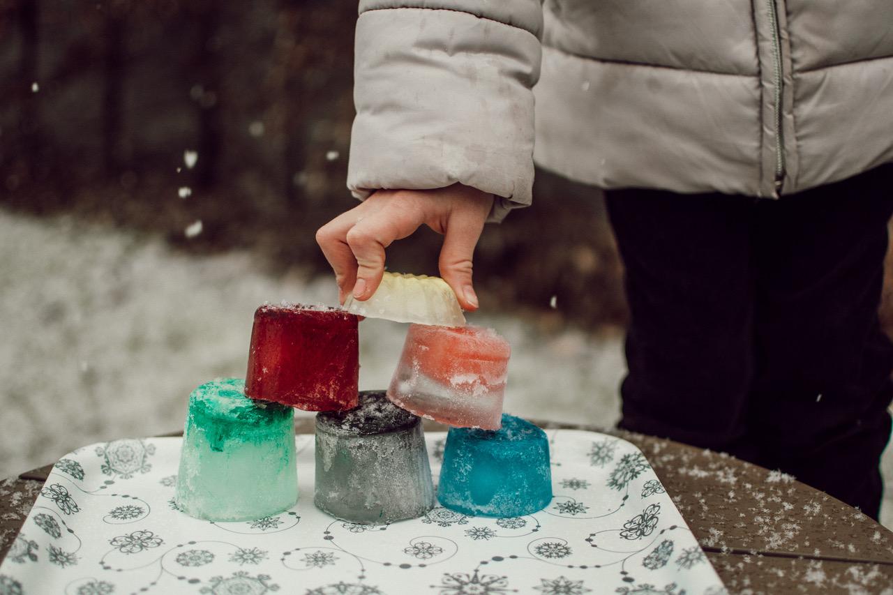 Ledové sochy – hry pro děti venku