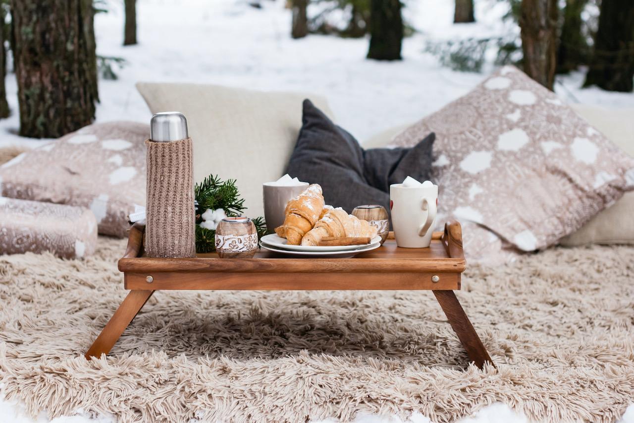 Zimní piknik - hry pro děti venku